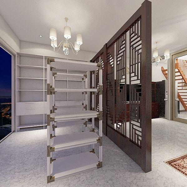 teng house Interior Design Render