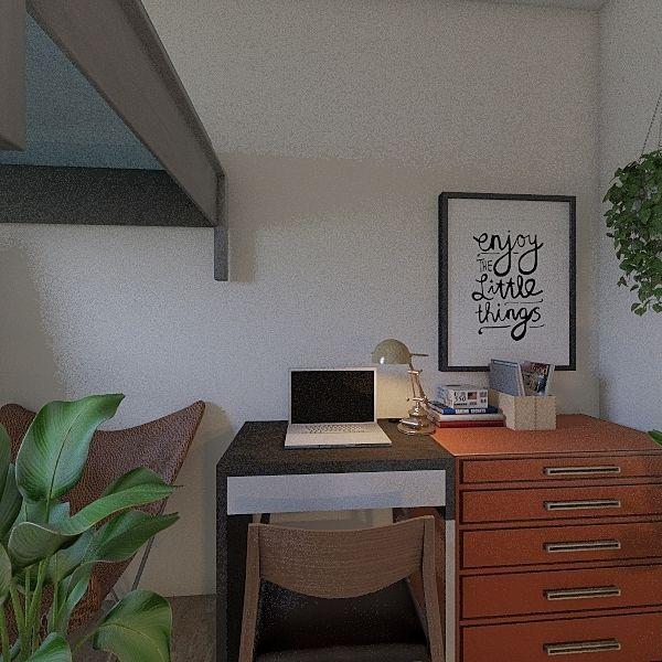 Freshman Dorm Iyanna x Alisa Interior Design Render