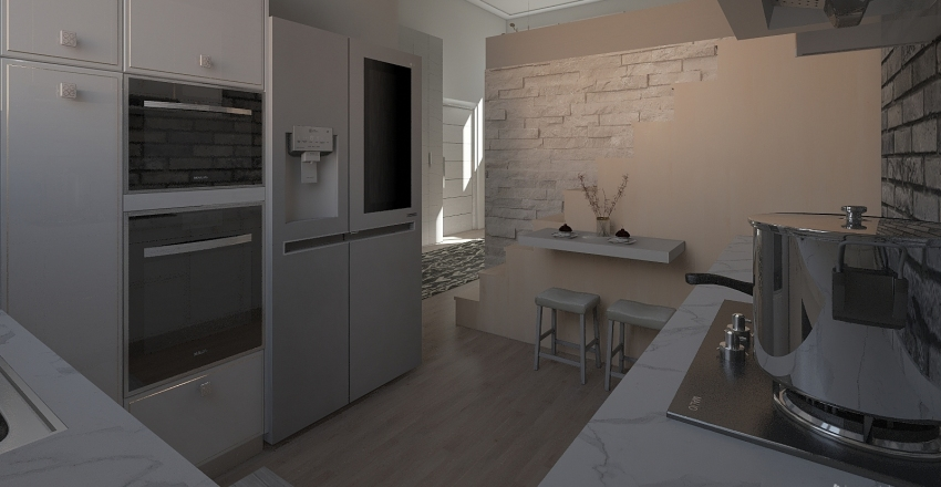 Tiny Home Design Interior Design Render