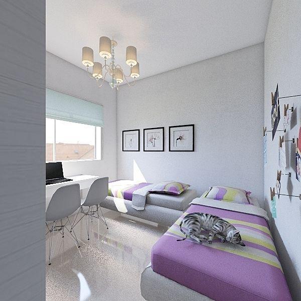 MELLIS 1 Interior Design Render