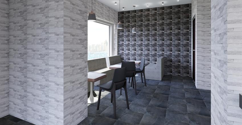 BAR VIA INDIPENDENZA Interior Design Render
