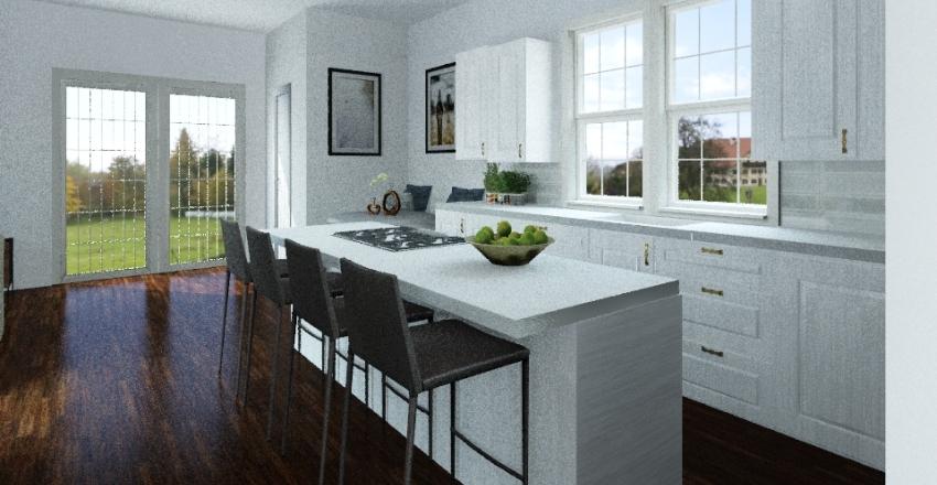 S Latches Lane Plan 1 Interior Design Render