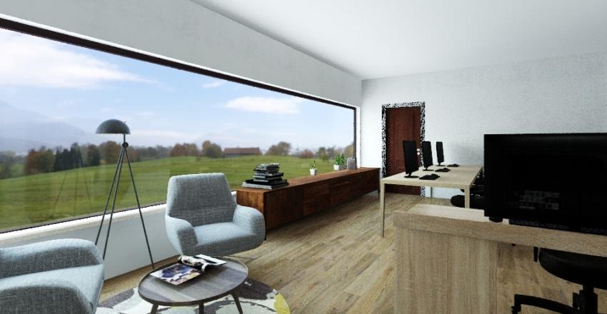 Despatx Comunicatek Interior Design Render