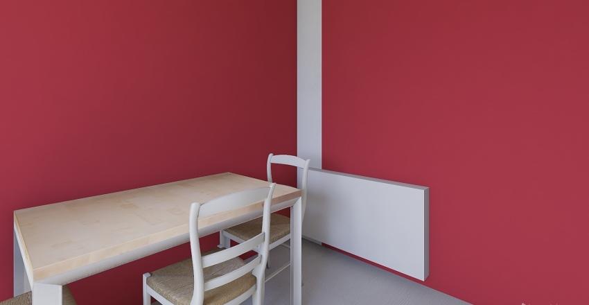 kitychen normalny grzejnik Interior Design Render