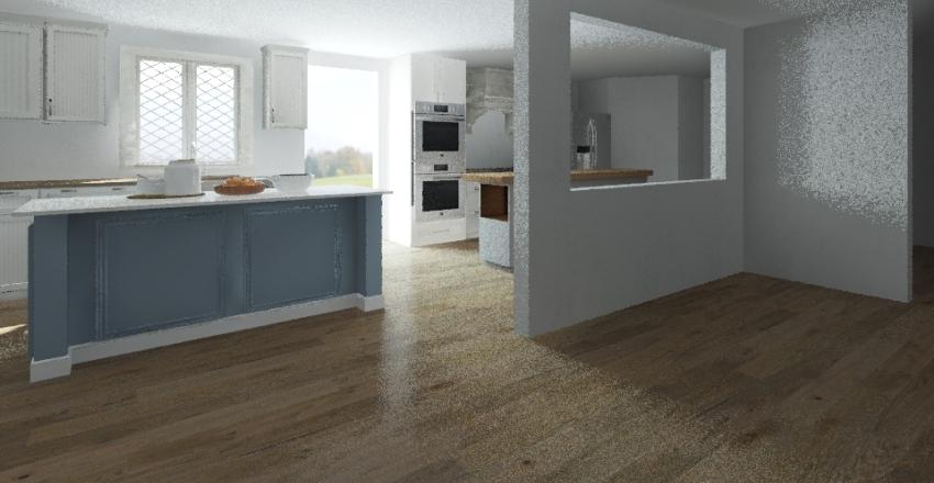 Morgante Kitchen Interior Design Render