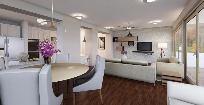apartamento en ciudad Interior Design Render