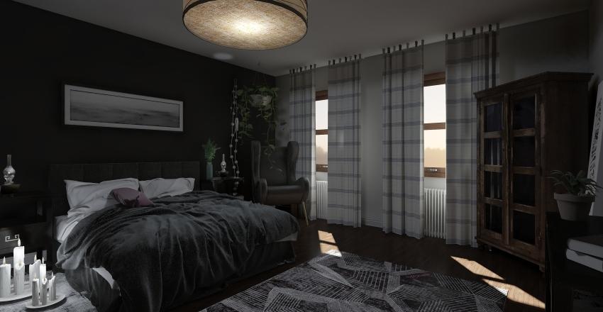DARK AND STORMY Interior Design Render