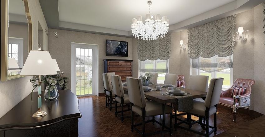 2_DINNER ROOM LARUSHINO Interior Design Render