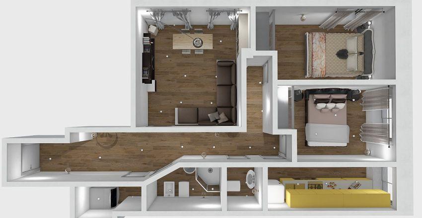 PIAZZA BENISCETTI RIF.315 Interior Design Render