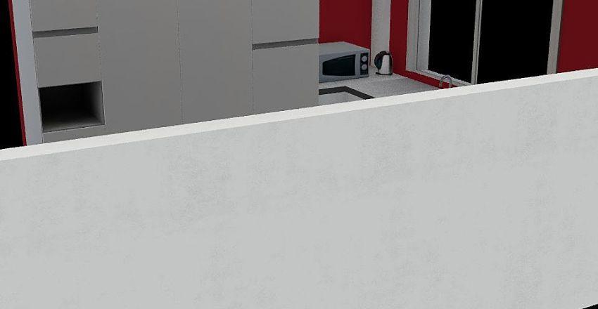kitychen Interior Design Render