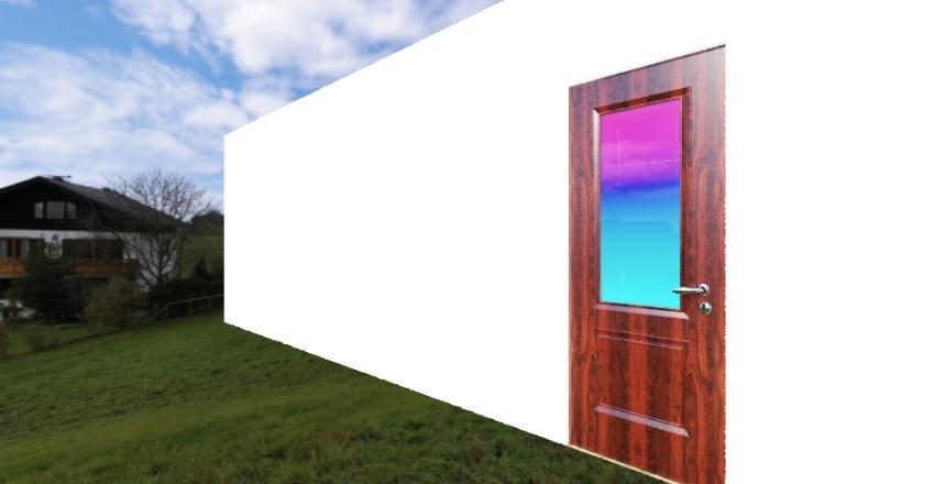 Garage Apartment Interior Design Render