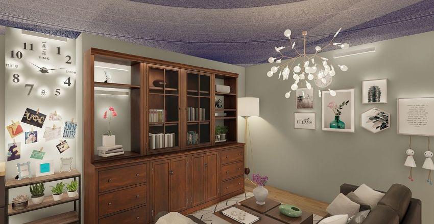 casa zia nadia da urgentemente Interior Design Render