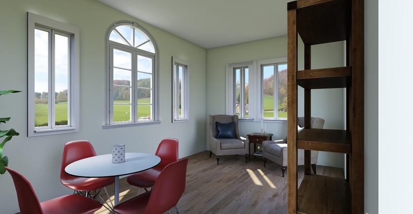 hackman sunroom Interior Design Render