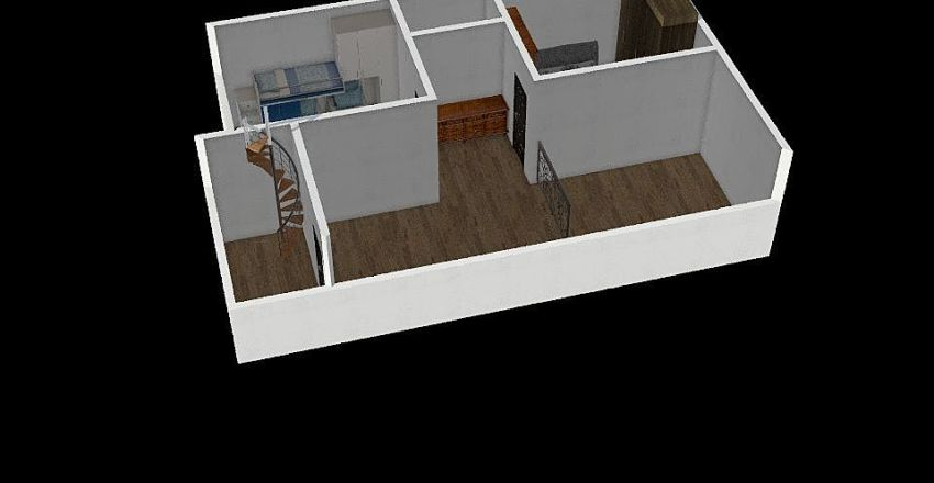 Ratnam First floor design 1 Interior Design Render