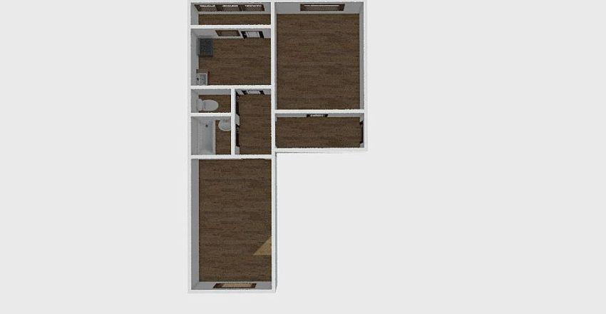 2-комн_0297 Interior Design Render