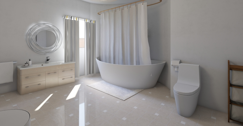 appartamento spazioso Interior Design Render