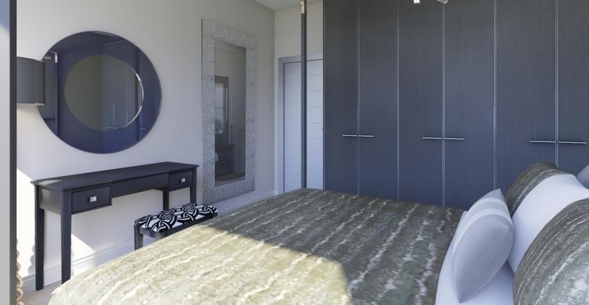 Round Penthouse Interior Design Render