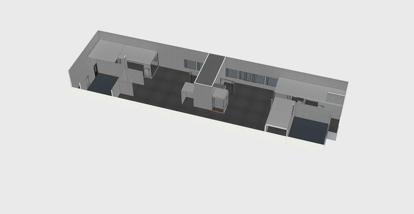 Log Interior Design Render