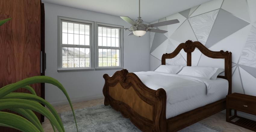 House & Garden Interior Design Render