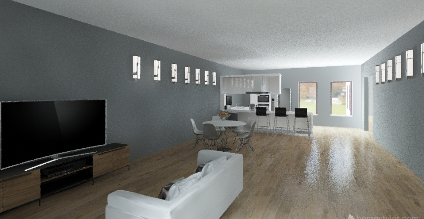 Dream House Interior Design Render