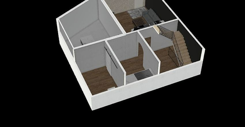 咖啡廳 Interior Design Render