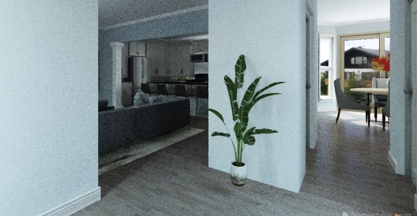 Moki & Savada - with hall closet Interior Design Render
