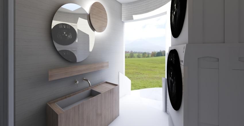 Bubble House Interior Design Render