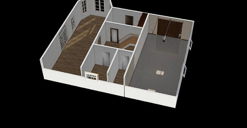 Dom 1floor Interior Design Render