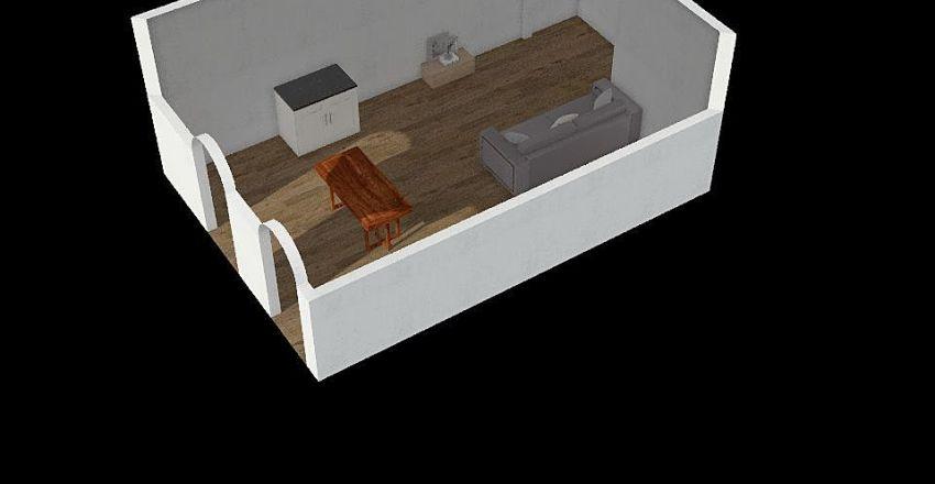 fra sala Interior Design Render
