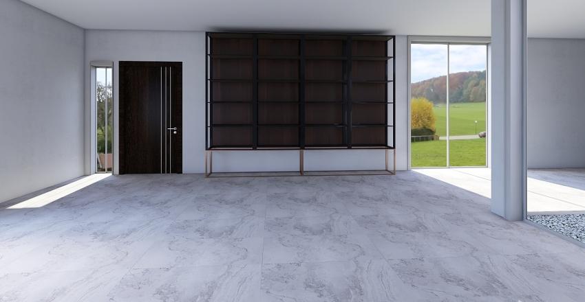 minimal Interior Design Render