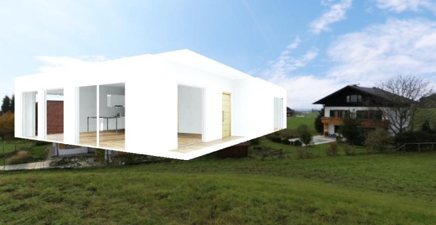 120m2 Interior Design Render