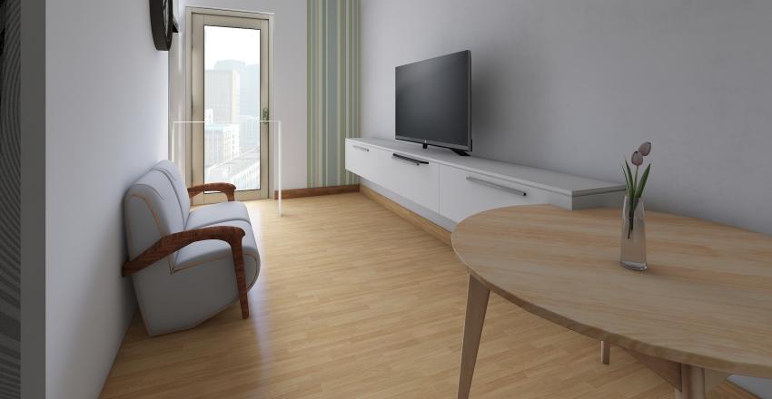 綠怡雅苑 Greenhill Villa Interior Design Render