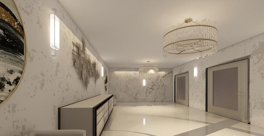Apto Solarium Interior Design Render