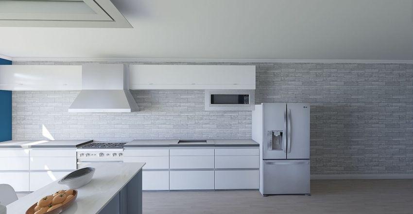 Kitchen Model Interior Design Render