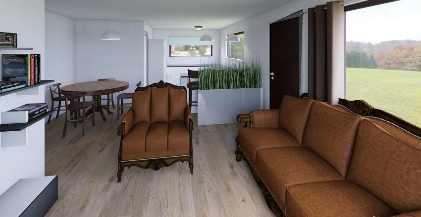 Casa Minor opción2 Interior Design Render