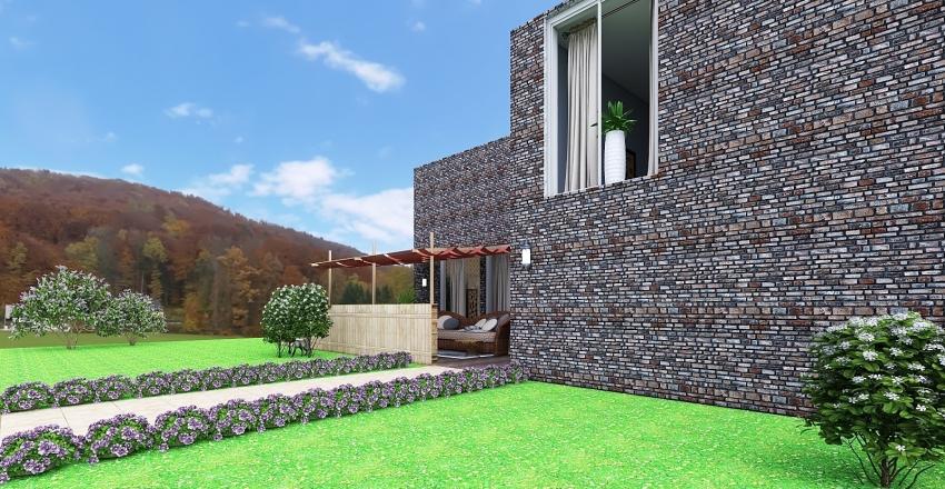 Modern Villa Interior Design Render