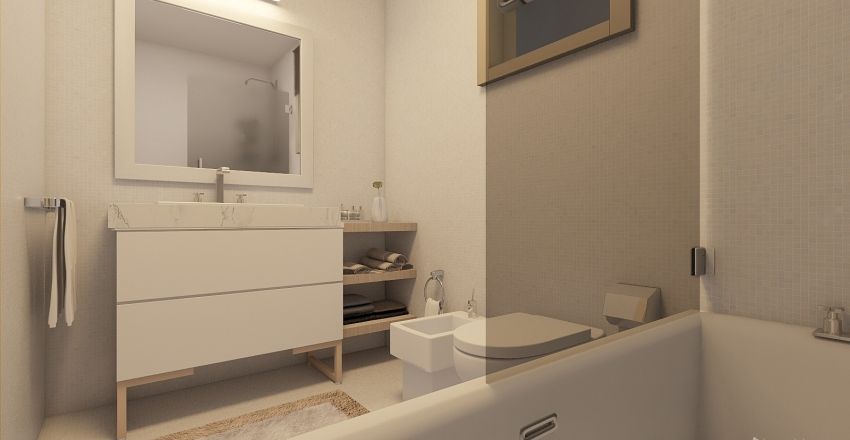 merda Interior Design Render