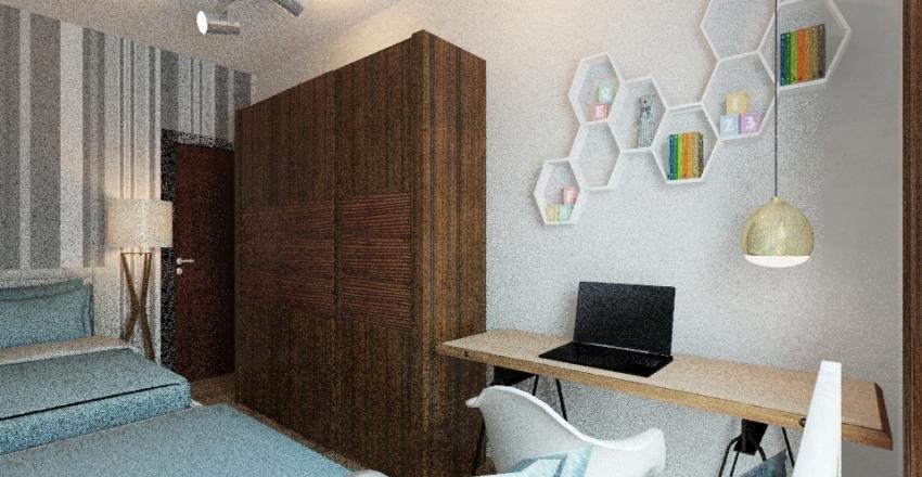 Casa Mãe Interior Design Render