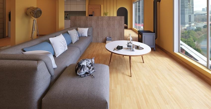 Floor 13 Interior Design Render