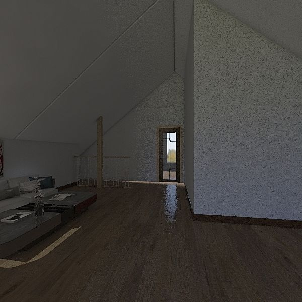 Aleš_podkroví_střecha1 Interior Design Render