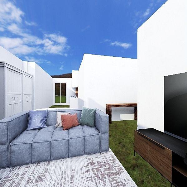 Maison parents Interior Design Render
