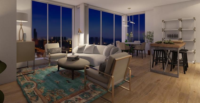31st Floor 4 Interior Design Render