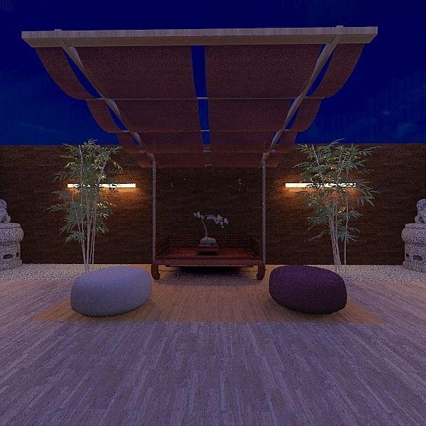 Terrace - Yakir Interior Design Render