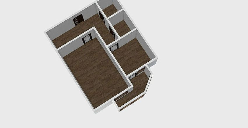 1-комн_0292 Interior Design Render