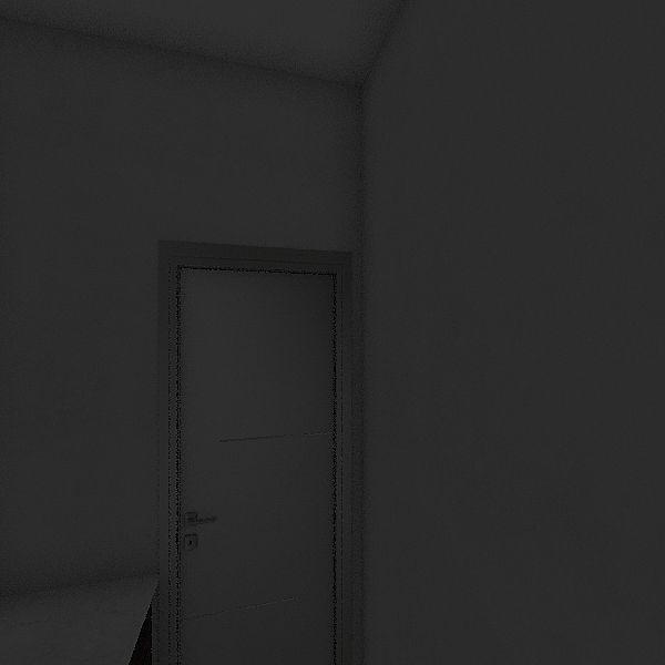 Adrianis bedroom Interior Design Render