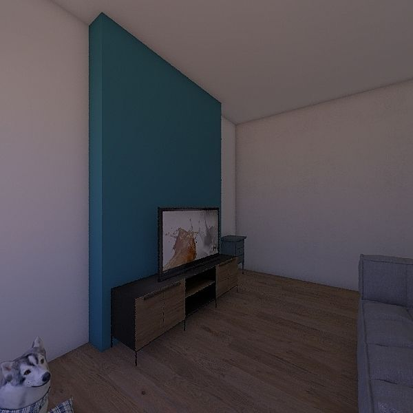 House Ours Interior Design Render