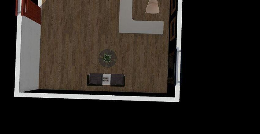 render recepcion Interior Design Render