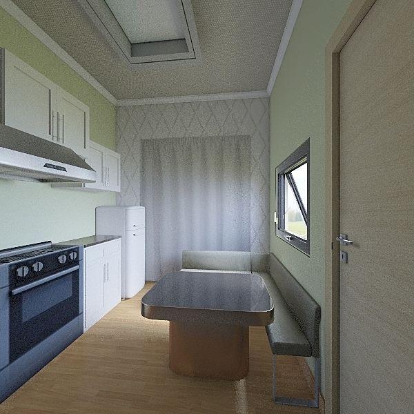 trailer Interior Design Render