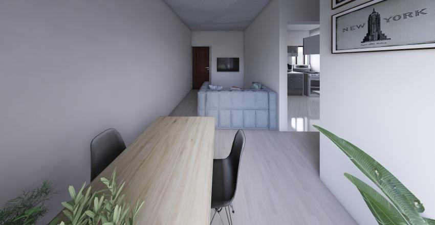 Casa Rosana Interior Design Render