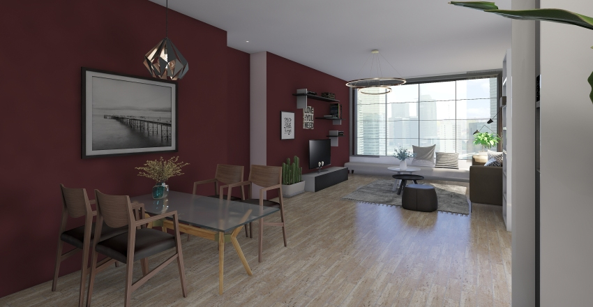 livingroom Interior Design Render